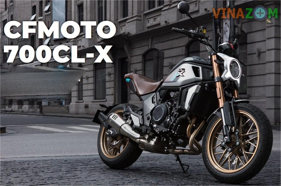 Đánh giá CFMoto 700CL-X