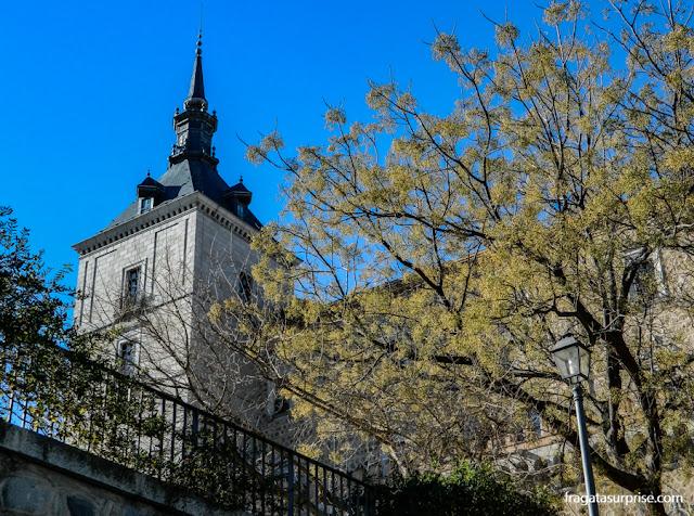 Torre do Alcazar de Toledo, Espanha