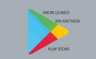Bin Method Play Store Working Updated July 2019
