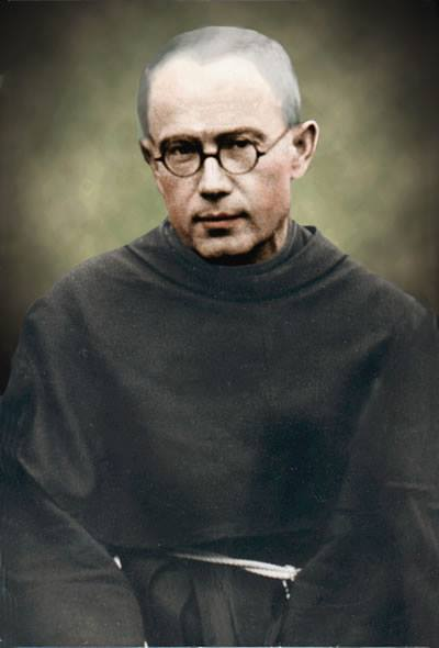 AUGUST 14 - St. Maximilian Mary Kolbe, Apostle of Mary