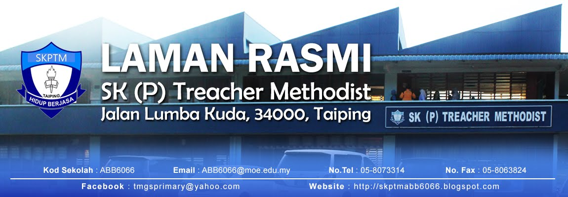 SK ( P ) TREACHER METHODIST, JALAN LUMBA KUDA, 34000, TAIPING