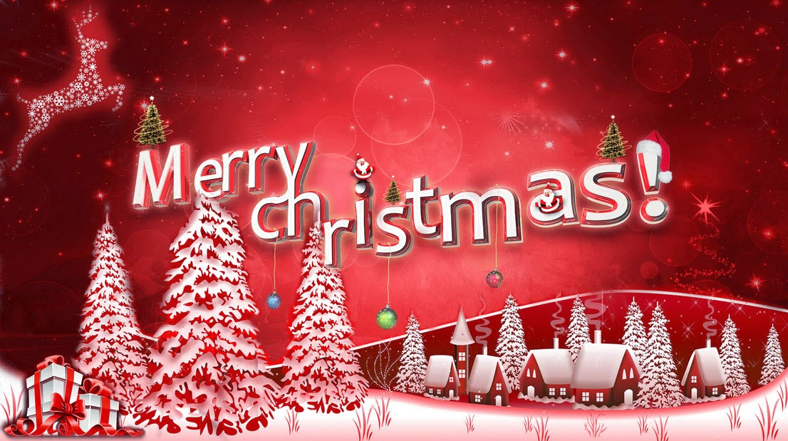 Merry Christmas Wallpaper For Whatsapp