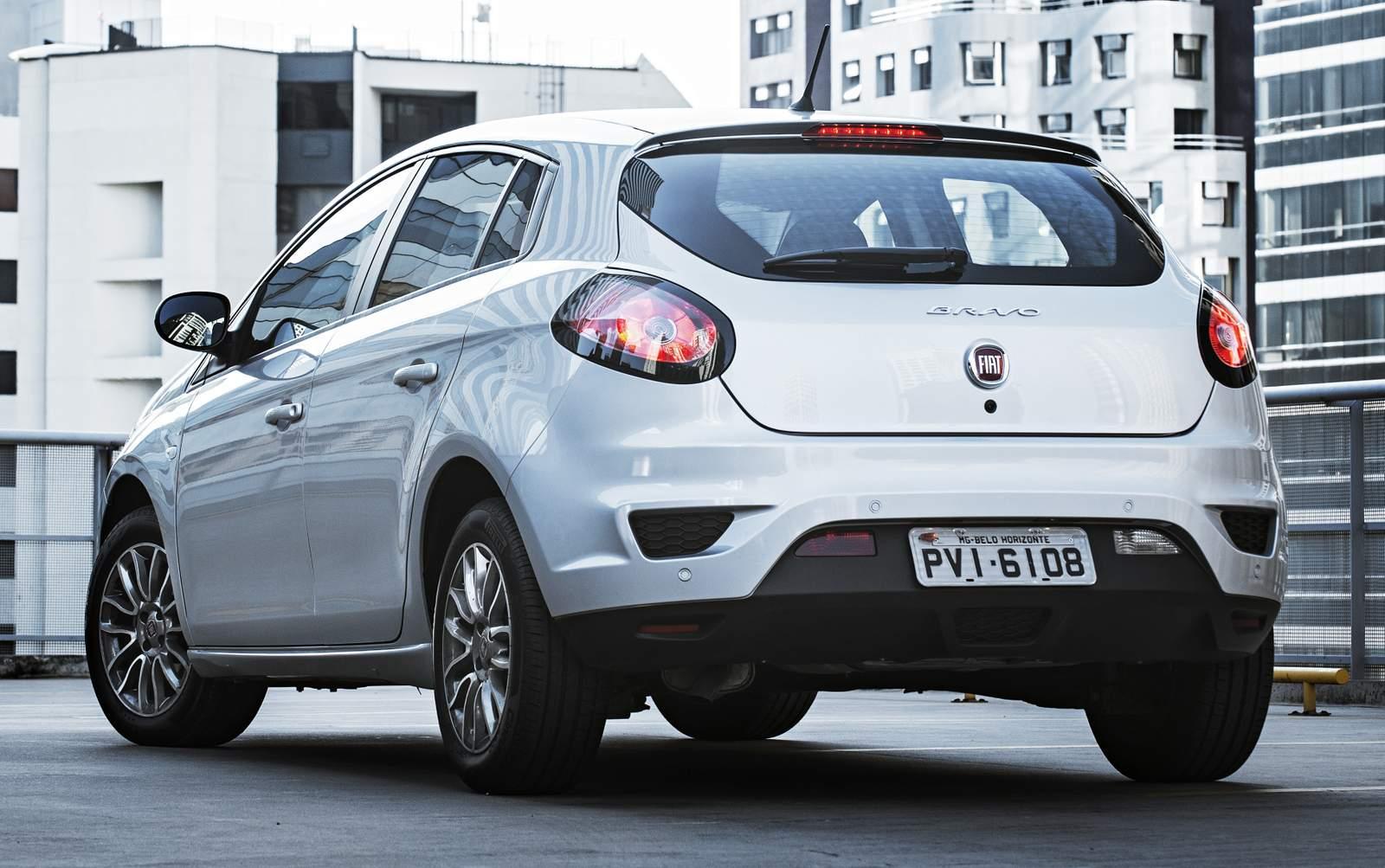 Fiat Bravo - Hatch médio menos vendido de 2016
