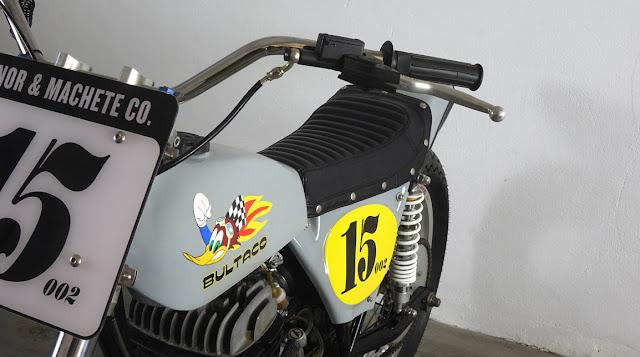 Bultaco 350 By Machete Company Hell Kustom