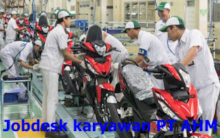 jobdesk karyawan di pt ahm indonesia