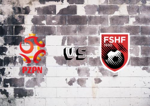 Polonia vs Albania  Resumen