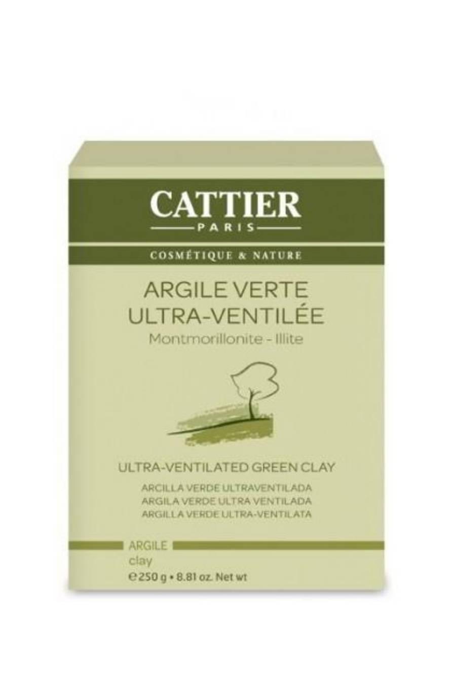 Arcilla verde superfina Cattier