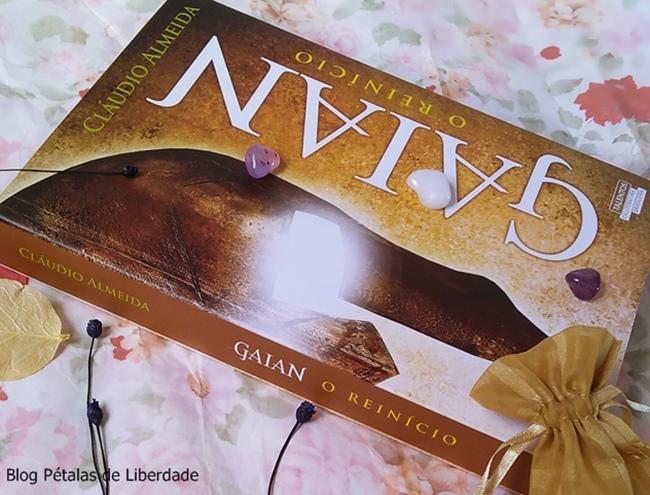 Resenha, livro, Gaian-o-reinicio, Claudio-Almeida, Novo-Seculo, capa, foto