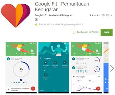 aplikasi olah raga yang keren di android