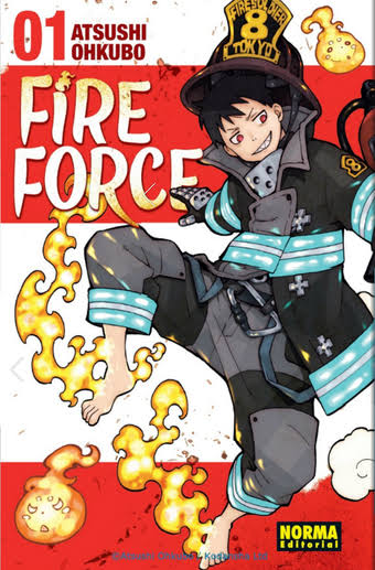 Fire Brigade of Flames Manga