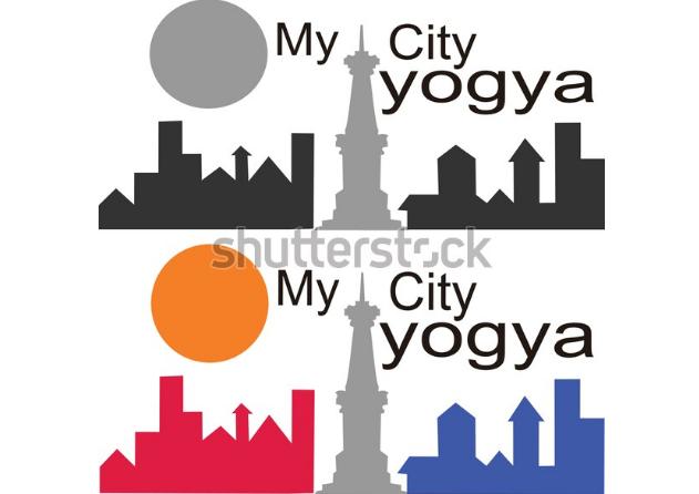 illustration graphic design the citys sileluet