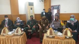 Wakapolres Kompol Mustafa Sani Hadiri Pelantikan Ketua DPRD Pangkep