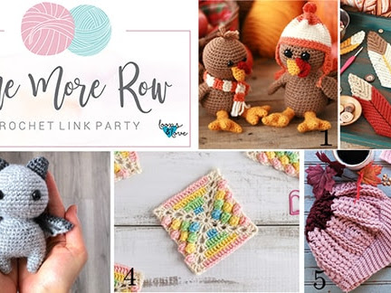 One More Row - Free Crochet Link Party #12