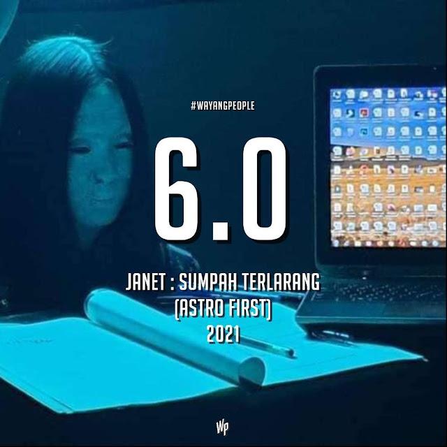 Sinopsis Janet Sumpah Terlarang
