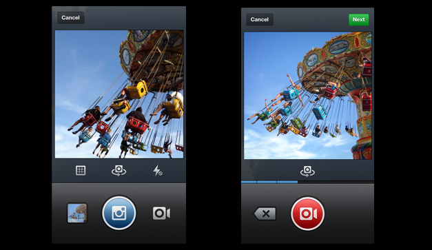 Instagram popular photo editor and photo sharing app