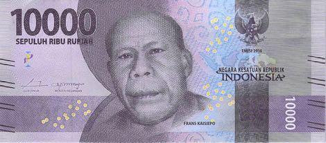 uang baru 10 ribu rupiah 2016 depan
