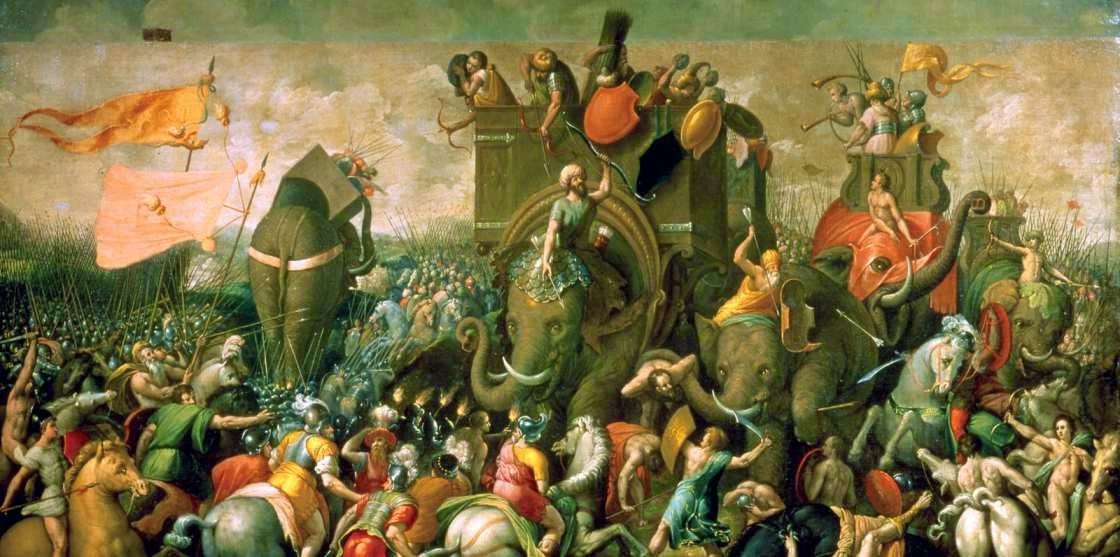 Cuadro sobre la segunda guerra punica