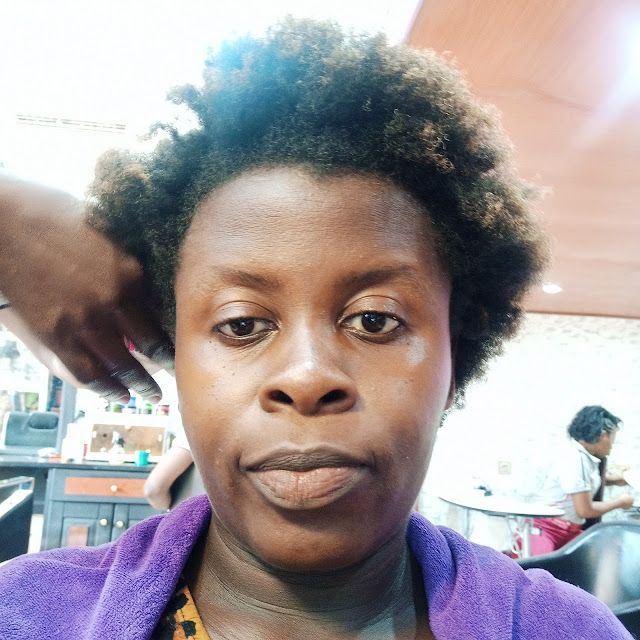 The Experience Of Relaxing My One-Year-Old Nappy Hair