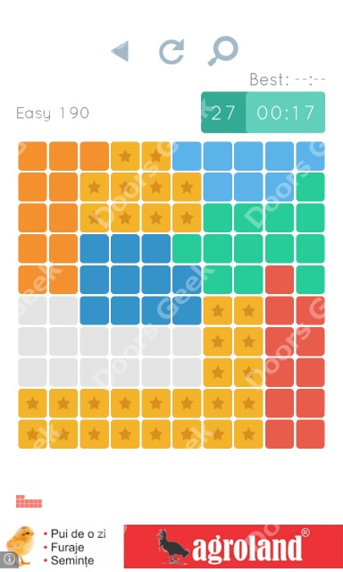 Cheats, Walkthrough for Blocks and Shapes Level 190