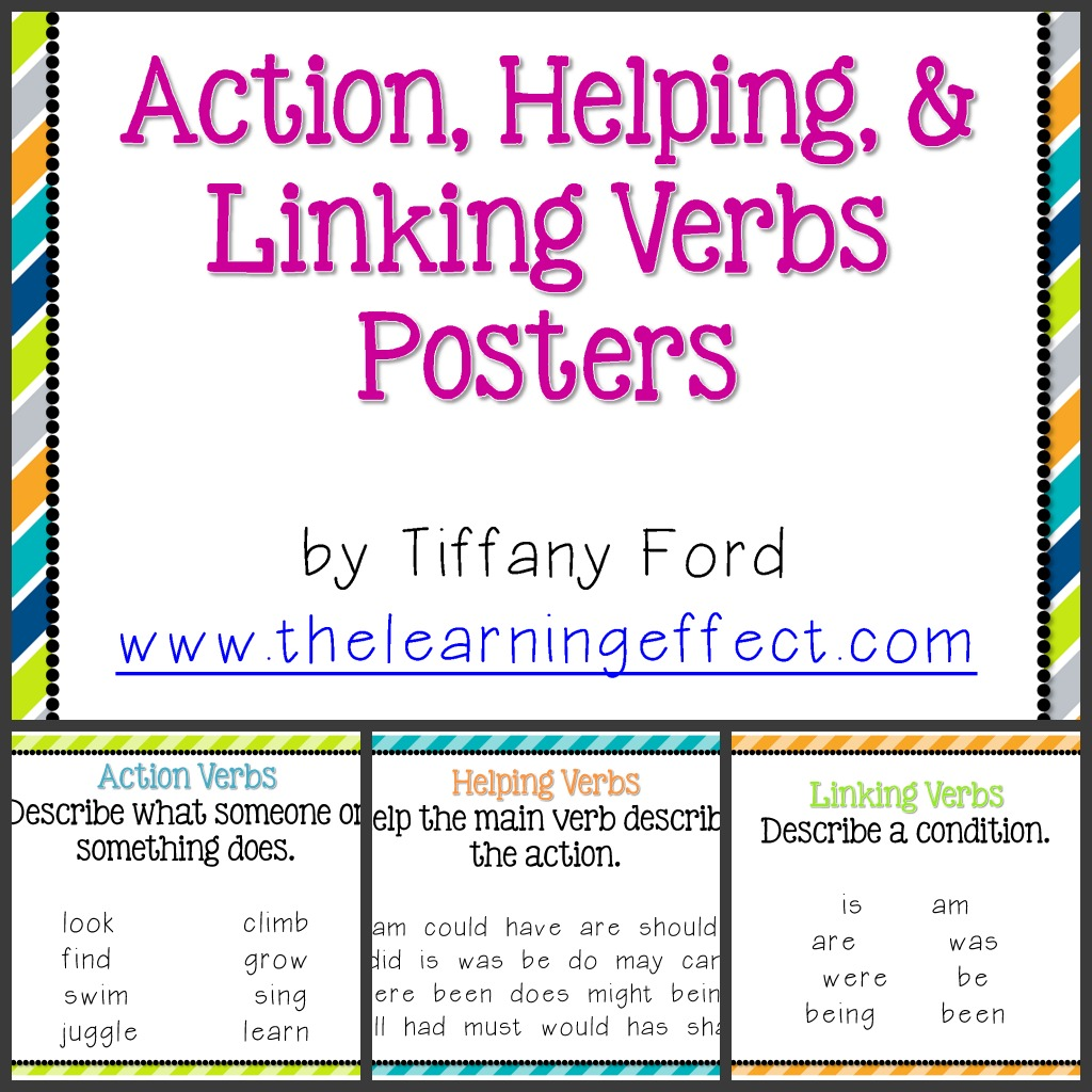 Linking Verb Worksheets 5th Grade   Printable Worksheets and Activities for  Teachers [ 1024 x 1024 Pixel ]
