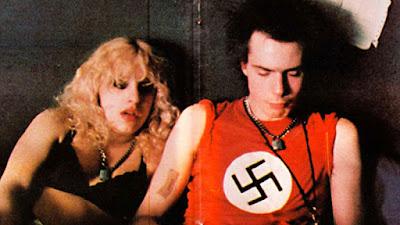 Sid Vicious iconic swastika red shirt. #PMRC PunkMetalRap.com