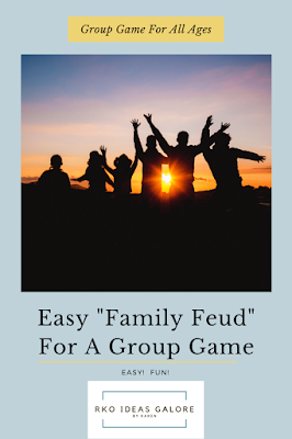 Family Feud For A Group Game