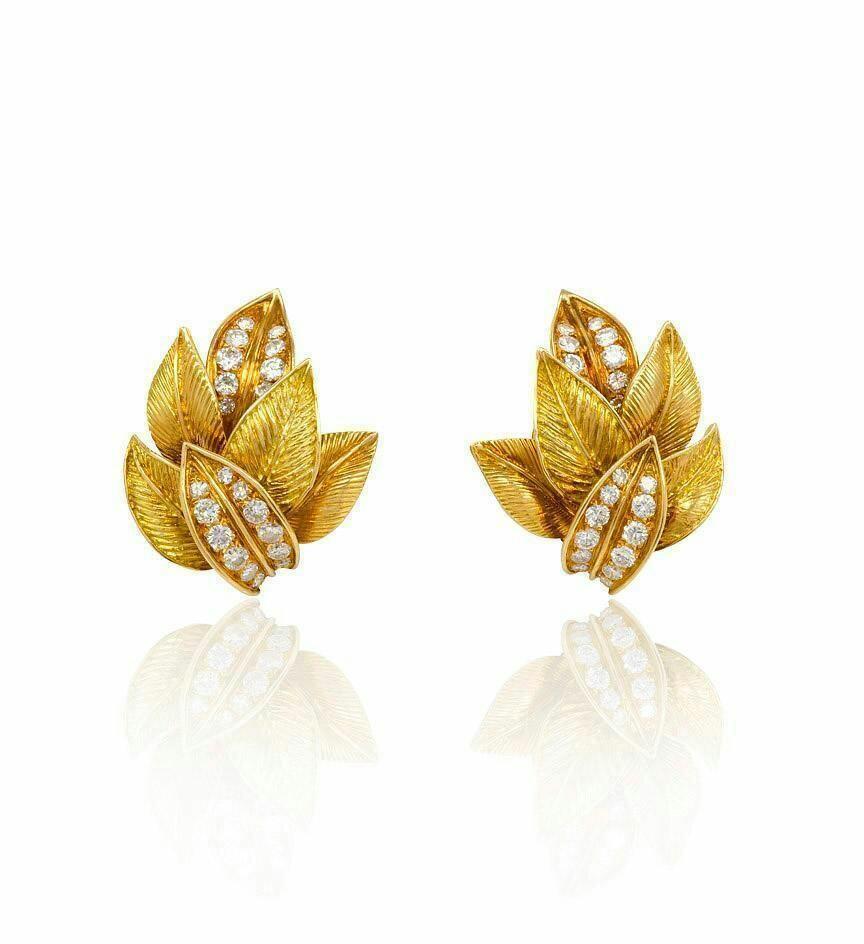 Fancy golden earring designs - Latest Jewellery Design for Women ...