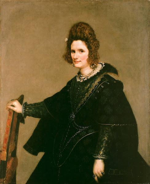 Диего Веласкес - Портрет дамы (ок.1630)