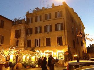 apartamento alugar trastevere fachada predio - Alugar Apartamento em Roma