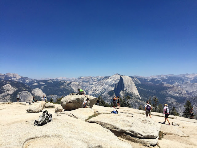 On top of Sentinel Dome