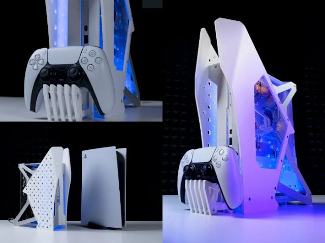 Modder from Vietnam Creates PS5 Design with Water-cooling Technology!
