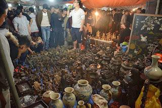 Vieng market festival in Nam Dinh province 2