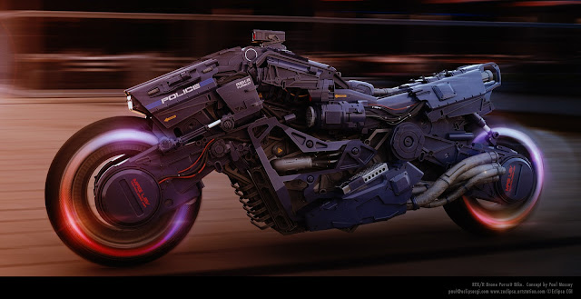 REK/R Pursuit Drone by Paul Massey
