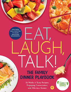 review of The Family Dinner Project's Eat, Laugh, Talk: The Family Dinner Playbook