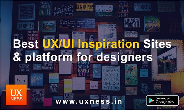 Best UX/UI Inspiration sites