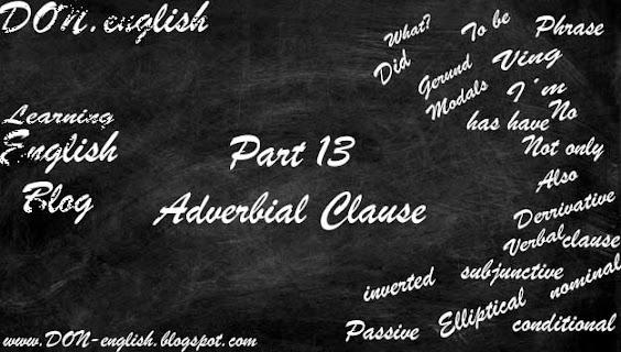 Contoh Adverbial Clause   Semua Jenis Lengkap dengan Latihan Soal