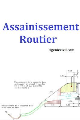Assainissement Routier - cours pdf