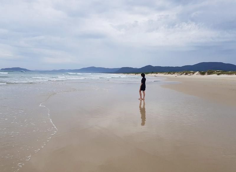 Praias de Florianópolis: Praia do Moçambique