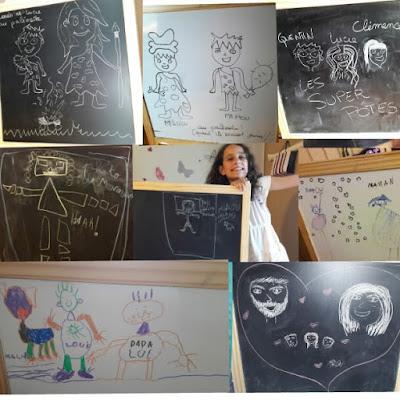 idée jeu activité en famille enfant surprise dessin rituel tableau cadeau rapide
