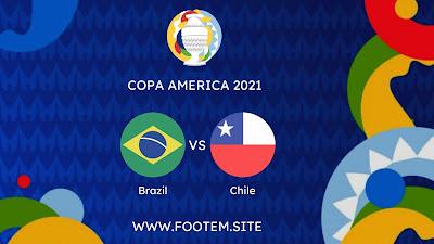 Brazil vs Chile copa america quarter final