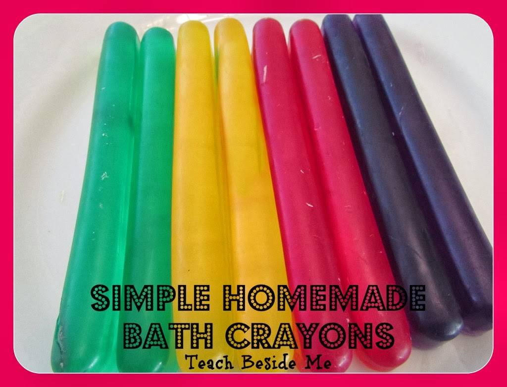 things to make at home soap bath crayons homemade