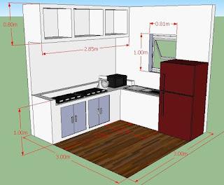 Cara Membuat Kitchen Set Minimalis