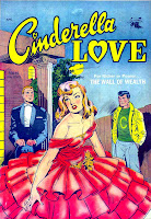 Cinderella Love v2 #15 st.john romance comic book cover art by Matt Baker