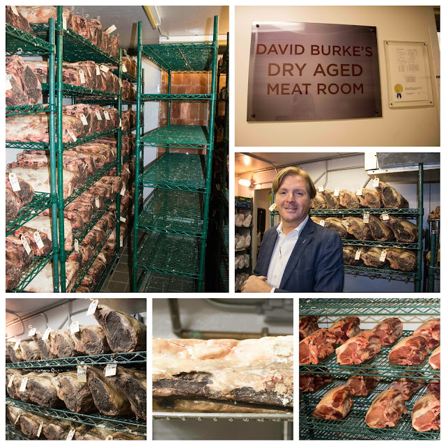 David Burke's Primehouse - Dry Aged Meat Room