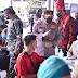 Kapolri dan Panglima TNI Cek Vaksinasi di Pasar Induk Medan