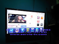 Service Tv led lcd Gading Serpong