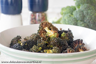 Geroosterde broccoli in de airfryer