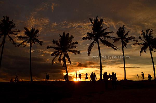 Sunset at Coco Cabana Miri