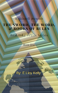 Picture of the book, the sword, the word and books of rules.