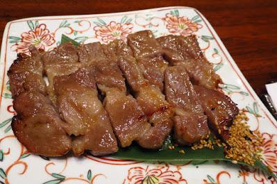 Suju Japanese Restaurant, iberico pork misozuke